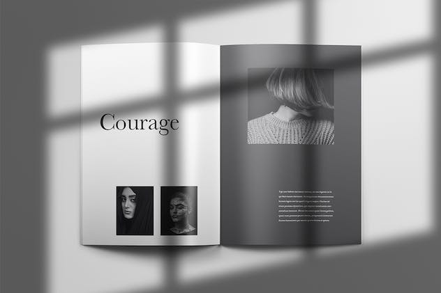 Yeager - Brochure Template Indesign - product preview 1