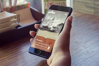 Thumbnail for iPhone 7 Plus Mockup v2
