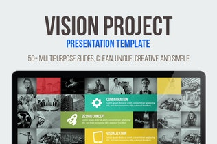 Thumbnail for Vision Project Presentation Template