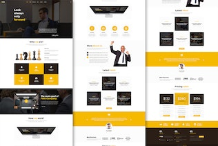 Thumbnail for Forward - Business & Corporate PSD Template