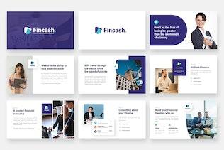 Thumbnail for FINCASH - Finance & Consulting Google Slides