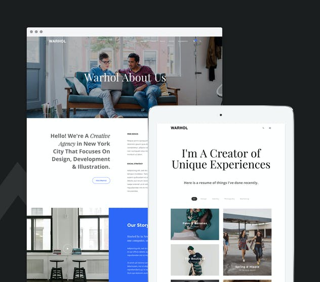 Warhol - Creative Multipurpose HTML Template - product preview 2