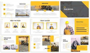 Thumbnail for Cons - Mechanical Powerpoint Template