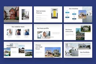 Миниатюра для Makelar - Недвижимость Презентация слайдов Google