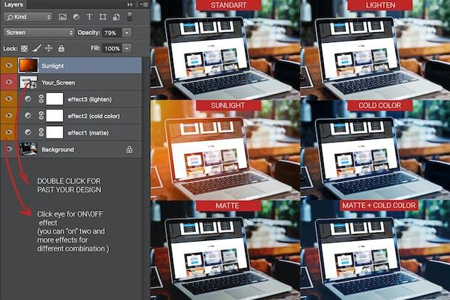 MacBook Pro Screen Mock-Up