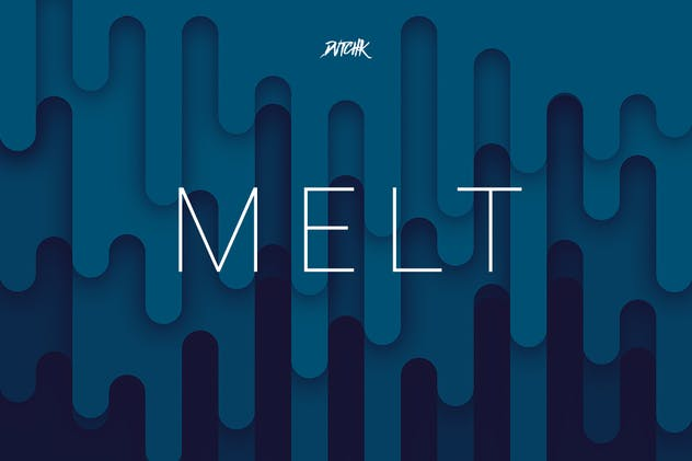 Melt | Abstract Rounded Backgrounds | Vol. 04 - product preview 2