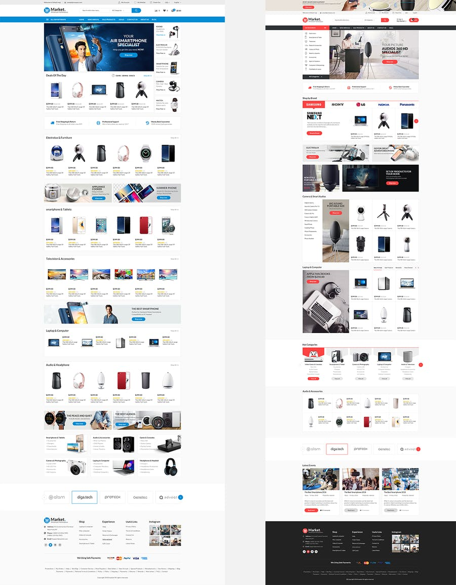 Themes Market Responsive Prestashop 1.7 - product preview 2