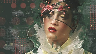 Thumbnail for Editorial Mixed Media FX Photoshop Add-On