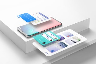 Thumbnail für Android Smartphone Mockup