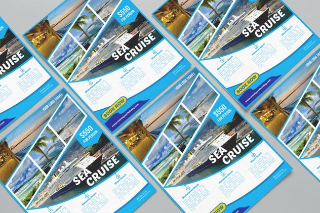 Travel Destination Flyer vol 3 - product preview 4
