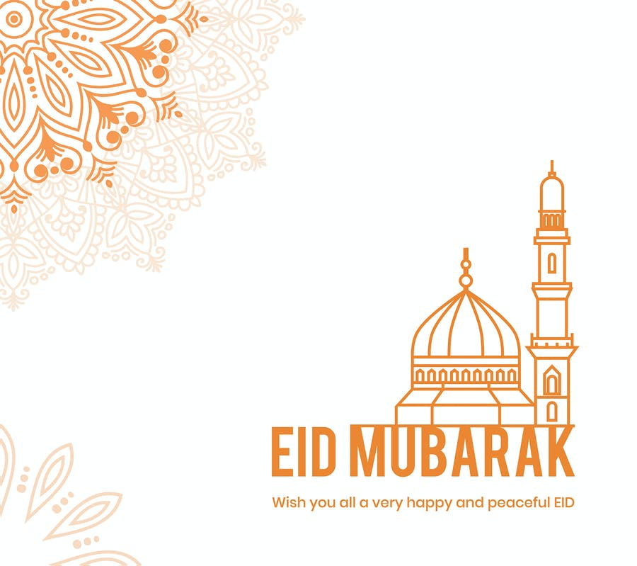 Eid Mubarak Card 9.0 - product preview 2