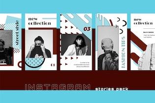 Thumbnail for Vontez - Pop Art Instagram Stories Kit