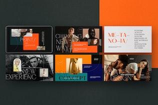 Thumbnail for Metanoia - Lookbook Fashion Powerpoint Templates