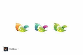 Thumbnail for Green Bird - Logo Template