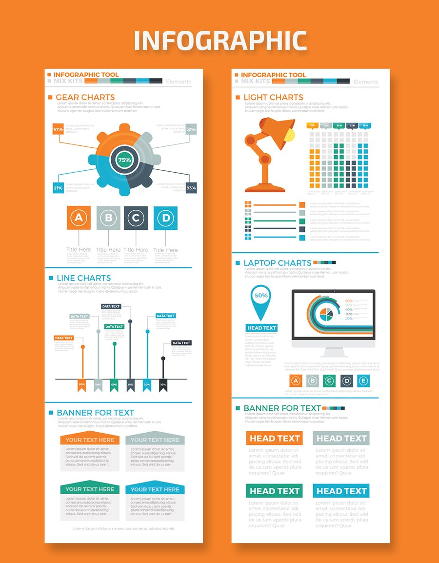 Business Infographics Elements - product preview 2