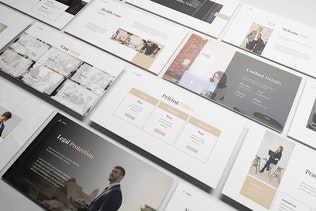Thumbnail for Law Firm Keynote Template