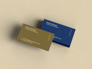 Thumbnail for Business Card MockUp v3