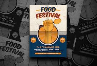 Thumbnail for Food Festival Flyer