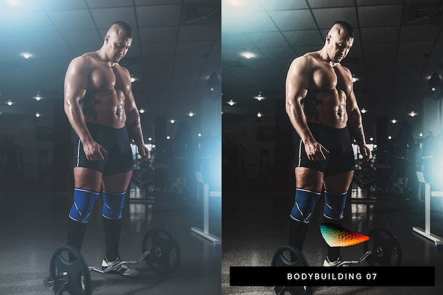 40 Fitness Lightroom Presets and LUTs - product preview 4