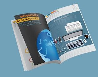 Миниатюра для Глобальный дизайн бизнес-Инфографика