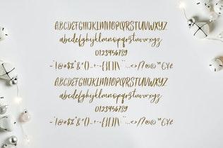 Thumbnail for Frances Modern Font