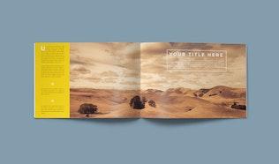Clean Brochure / Catalog Template