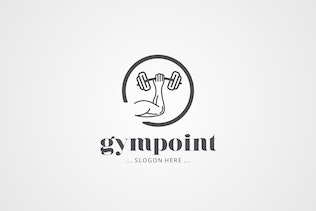 Thumbnail for Fitness Gym Logo