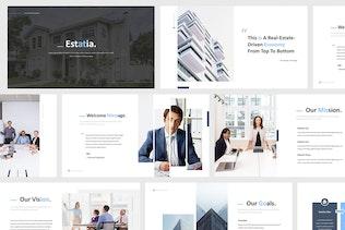 Thumbnail for Real Estate Google Slides Presentation Template