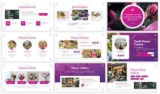 Thumbnail for Flourisha - Florist Google Slides Template