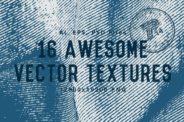 Denim Texture Pack Background - product preview 6