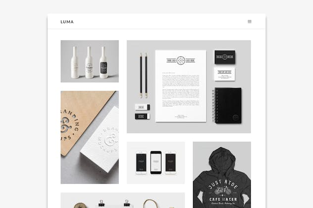 LUMA - Creative Muse Template - product preview 0