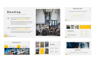 Thumbnail for Construction - Powerpoint Template