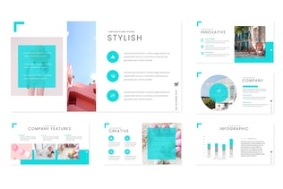 Thumbnail for Suriella - Powerpoint Template