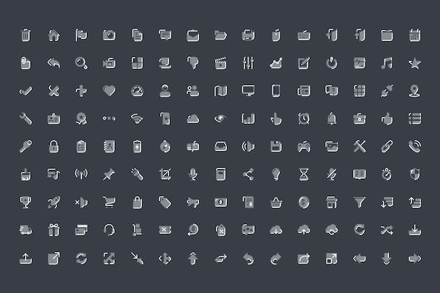 Iconoe - 135 DuoTone Icons - product preview 2
