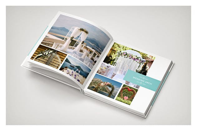 PSD - Minimalist Wedding Album - product preview 7