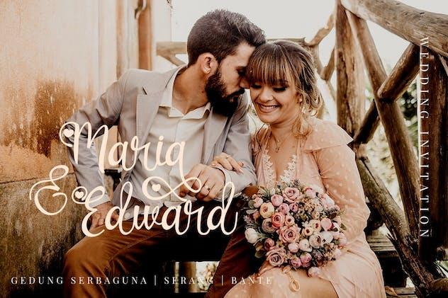 Lovely Couple - Romantic Script Font - product preview 4