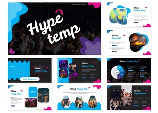 Thumbnail for Hype | Keynote Template
