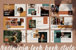 Thumbnail for Nostalgia Powerpoint Template