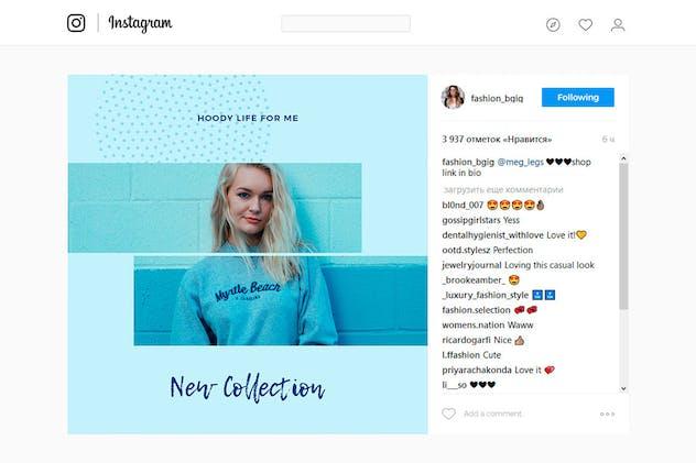 Blue Sky Social Media Designs - product preview 3