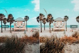 Thumbnail for Miami Mobile & Desktop Lightroom Presets