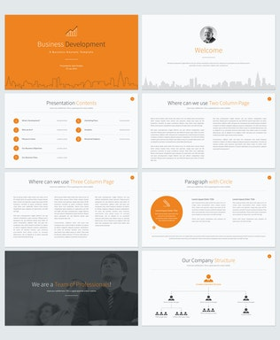 Thumbnail for Business Development Keynote Template