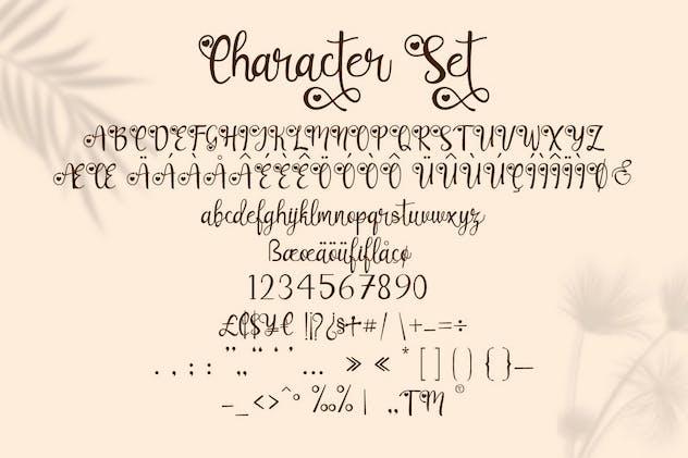 Lovely Couple - Romantic Script Font - product preview 7