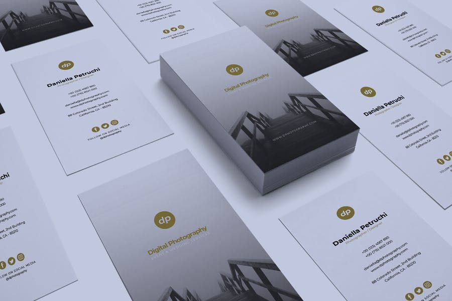 Minimalist Business Card Vol. 43 - product preview 4