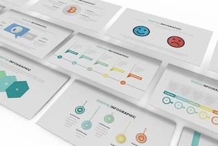 Thumbnail for Digital Infographic Google Slides Template