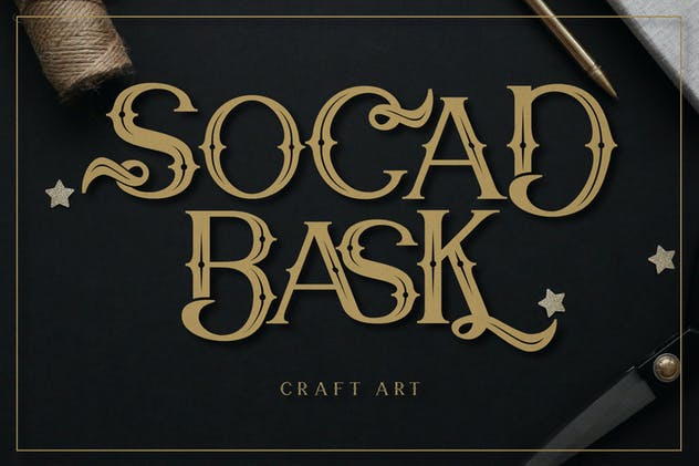 Chief Cart Vintage Typeface - product preview 9