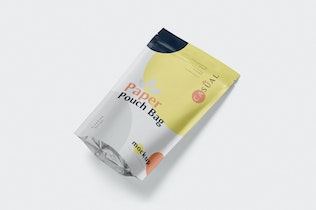 Thumbnail for Paper Pouch Bag Mockup - Large Size
