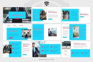Миниатюра для Qnek Business - Powerpoint