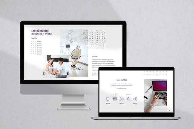 Medical & Health Insurance PowerPoint Template