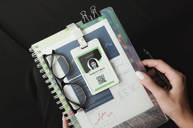 Identity Card Holder Mockup - product preview 3