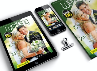 Thumbnail for Wedding Magazine Cover